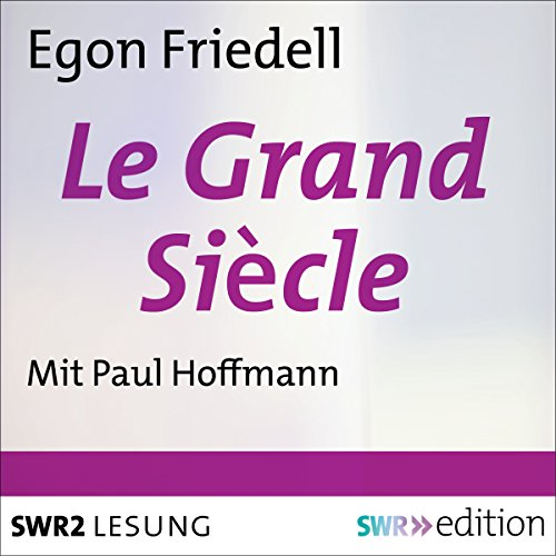 Le Grand Siècle audiobook cover art