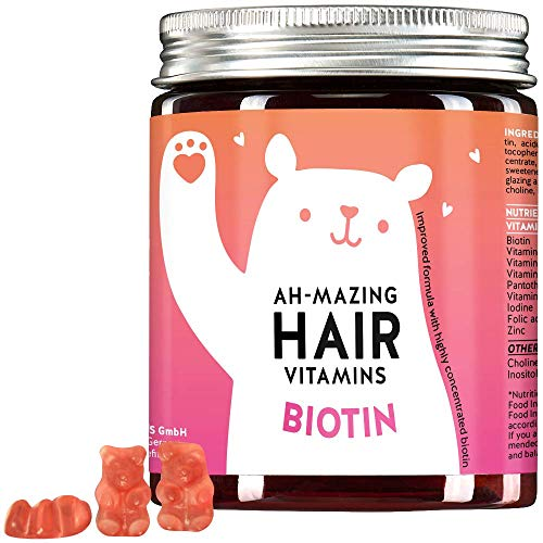 Bears with Benefits Amazing Hair Vitamins with Biotin, 150 gr