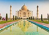 XIAOXINGXING Puzzle de 1000 Puzzle Creativo Puzzle Taj Mahal India para niños Adultos Painting Puzzle decoración