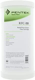 Fіvе Расk Pentek C1-20 Carbon-Impregnated Cellulose Filter Cartridge 5 Micron 20 x 2-1//2