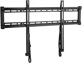 "Sanus Super Low Profile Fixed Position TV Wall Mount Bracket for 40"" - 80"" TVs - Features Slim 1"" Profile, Easy Access to Cables, Simple Install - OLL15-B1"