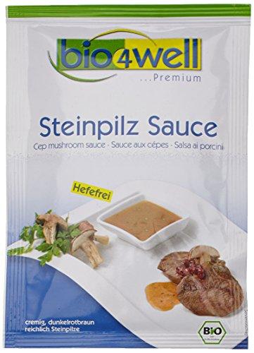 bio4well Bio Steinpliz Sauce, hefefrei, 10er Pack (10 x 30 g)