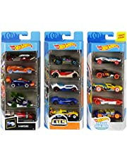 Hot Wheels American 5-Pack 1:64 Scale Die-Cast Cars Collectors of All Ages Premium Graphics Exclusive Great Gift Idea