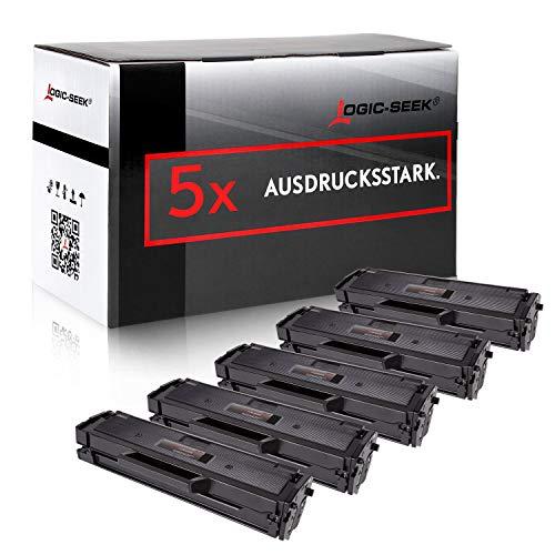 5 Toner kompatibel für Samsung SL-M2022W/SEE SL-M2022/SEE XpressM2070FW M2071FW M2020W - MLT-D111S/ELS - Schwarz je 2500 Seiten