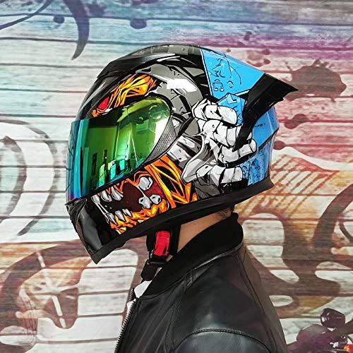 ZYW Dirt Bike ATV Helm Racing Helm Motorrad Helm Erwachsene Männer Und Frauen...