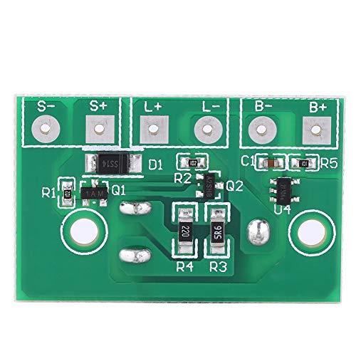 GAESHOW Placa de Circuito de Control de módulo de Controlador de lámpara Solar Interruptor para batería de 3.7V Accesorios de luz Solar para césped
