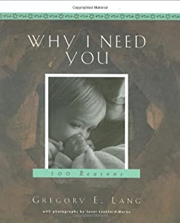 Why I Need You by Gregory Lang (2005-02-01)