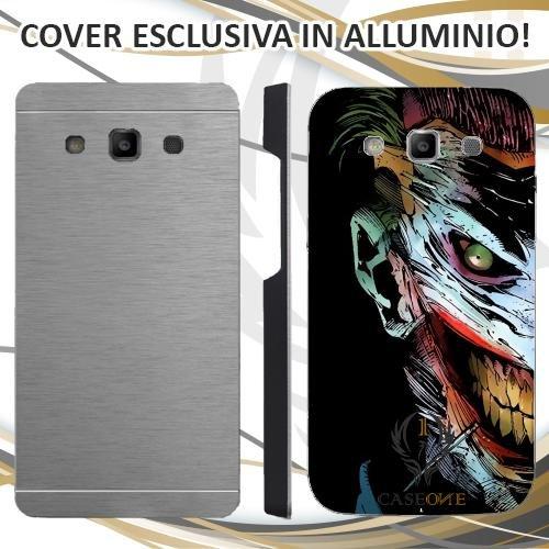 Custodia Cover Case Joker Face per Samsung Galaxy Core Prime in Alluminio