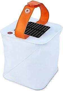 折りたたみ式 LEDランタン ソーラーパネル充電 防水 火を使わないから安全 キャンプ アウトドア 防災