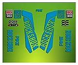 Pegatinas HORQUILLA Rock Shox Pike 2016 ELX27 Stickers Aufkleber AUTOCOLLANT ADESIVI Bicicleta Cycle...