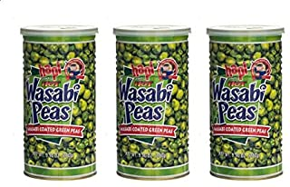 Hapi Hot Wasabi Peas, 9.9 Ounce (Pack of 3)