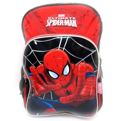 Spiderman [L0314] - Sac à Dos 'Spiderman' Rouge Noir (40 cm)