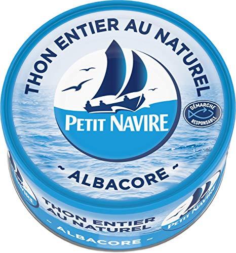 Petit Navire Thon Naturel 1/6 Démarche Responsable 93 g