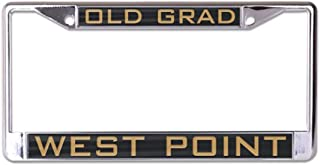 WinCraft United States Military Academy West Point Old Grad Alumni License Plate Frame, Metal with Inlaid Acrylic, 2 Mount Holes