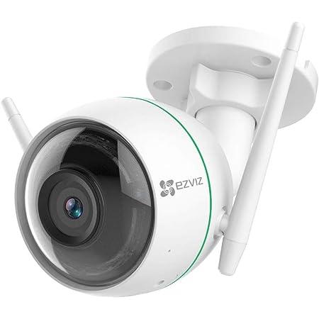 Ezviz C3wn Überwachungskamera Outdoor 1080p Wlan Ip Kamera Mit 30m Nachtsicht Bewegungserkennung Ip66 Wasserdicht Unterstützt Bis Zu 256g Sd Karte Kompatibel Mit Alexa Google Home Ifttt Baumarkt
