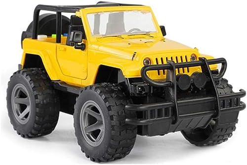 Venta al por mayor barato y de alta calidad. LF Simulated Simulated Simulated Jeep SUV Coche de Juguete para Niños ( Color   amarillo )  bienvenido a elegir