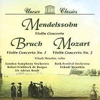 Mendelssohn/Bruch/Mozart;Violi