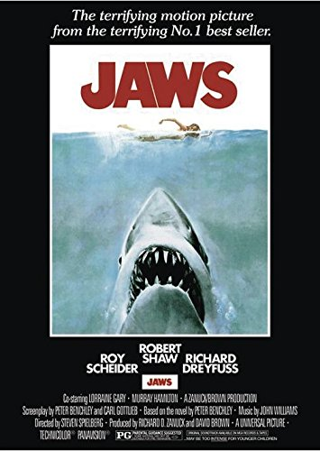 Close Up Jaws Poster Der Weisse Hai + Ü-Poster