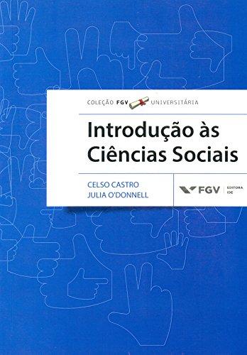 Introdução as Ciências Sociais - fgv Universitária