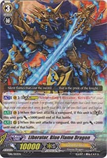 Cardfight!! Vanguard TCG - Liberator, Blue Flame Dragon (TD16/003EN) - Trial Deck 16: Divine Judgement of the Bluish Flames