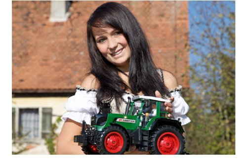 RC Traktor kaufen Traktor Bild 1: Carson 500907171 1:14 Fendt 100% RTR 2.4G Singlereifen, grün*