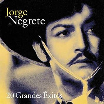 Jorge Negrete 20 Grandes Éxitos