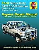 Ford Super Duty F-250 & F-350 2WD & 4WD Gas & Diesel Engine Pick-ups (11-16) Hay