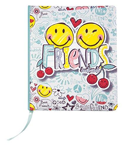 NICI 40734 - Freundebuch Smiley Friends 15x18cm im Display