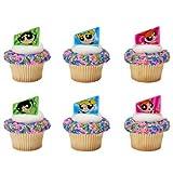 Powerpuff Girls Saving the World Cupcake Rings - 24 pc