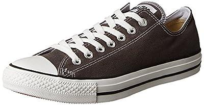 Converse Unisex Chuck Taylor All Star Low Basketball Shoe (36-37 M EU/6 B(M) US Women/4 D(M) US Men, Charcoal)