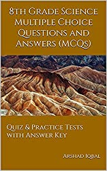 8th Grade Science Quiz, MCQs & Tests