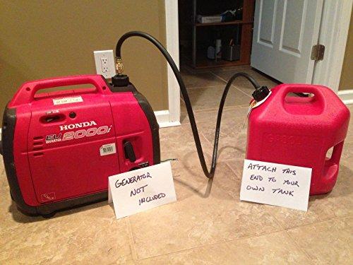 superbobi-Extended Fuel KIT for Honda Generator use Your 5 G Tank