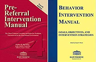 SET - Pre-Referral Intervention Manual (Newest Edition) PLUS Behavior Intervention Manual