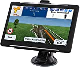 GPS Navigation for car, Latest 2021 Map 7-Inch HD Touch Screen 256-8GB Navigation System, with Voice Guidance and Speed  Warning, Lifetime Free Map Updates