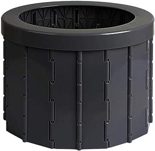 estructura de metal, color negro Inodoro plegable 24ocean