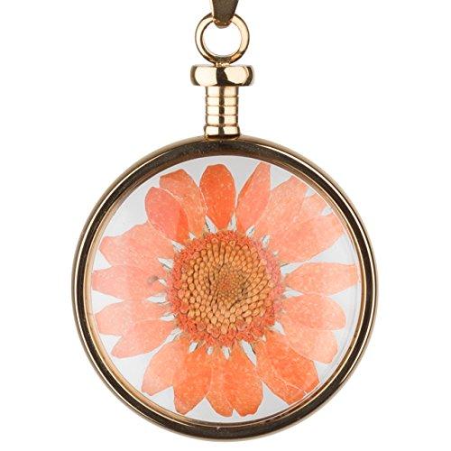 blumenkind Blüten-Anhänger Gold/orange BL01MGOOR