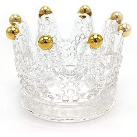 Porte-bague couronne pour femme - Pour baguesbracelets, boucles d'oreilles, colliers, présentoirs pour bijoux, bijoux, cadeaux pour Noël, anniversaire, Saint Valentin pour femmes et filles