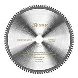 S&R Disco de corte 254 Madera y Metales - 96 Dientes / Hoja de sierra...