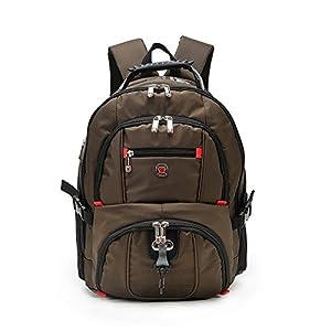 51Wu+7DvHML. SS300  - FANDARE Alpinista Mochila Backpack para Ordenador Portátil 10''-15.6'' Recorrido Morral al Aire Libre Impermeable Viaje…