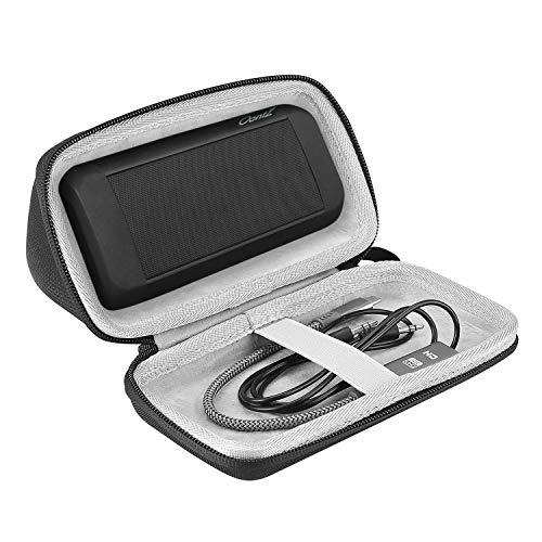 ProCase Estuche Goma EVA para OontZ Angle 3 Ultra/Plus, Caja Foam Antichoques de Viaje para Cambridge SoundWorks OontZ Angle 3 Ultra/Plus Altavoz Inalámbrico Portable -Negro