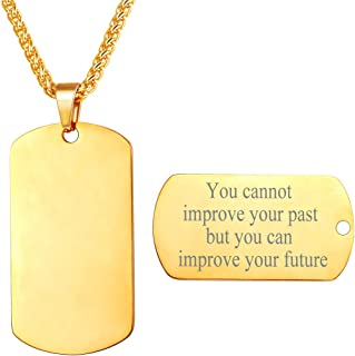 Best personalised gold dog tags Reviews