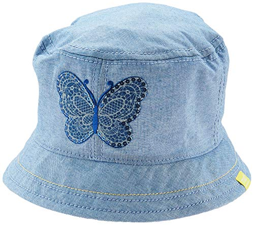 maximo Mädchen Hut Mütze, Blau (Jeans 63), (Herstellergröße: 51)