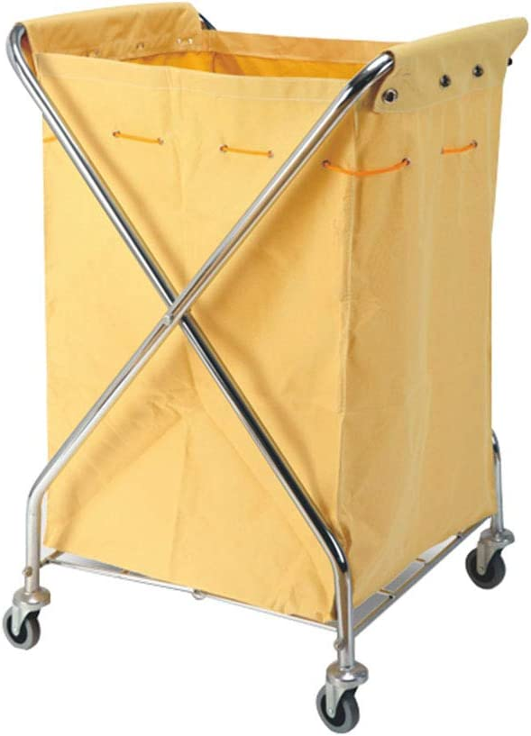 Foldable Laundry Trolley Cart Sorting Selling and San Diego Mall selling Stainle Car X Type