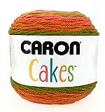 Caron 29401717022 Cakes, Acrylique, Strawberry Kiwi, 24 x 15 x 15 cm