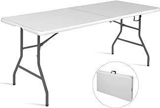 Tisch 90x60 Soytich Klapptisch Campingtisch mit 2 St/ühle Klappstuhl Tisch Koffertisch
