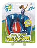 Get Outside Go! Easy Catch Ball & Glove Set Super Sport Outdoor Active Play Baseball by Toysmith (Packaging...