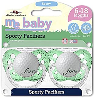 Michaelson Entertainment 2 Piece Pacifier, Golf