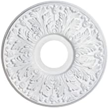 Westinghouse Lighting 7702800 15-1/2-Inch Victorian White Finish Ceiling Medallion