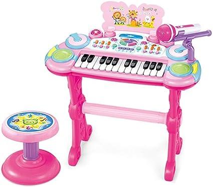 HXGL-piano Teclado Infantil Juguete para Niña Principiante 3 ...