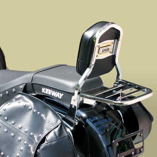 SPAAN - Respaldo con Porta - Keeway Super Light 125